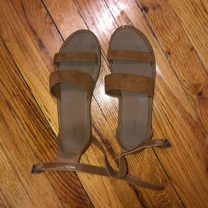 Shoes - Brown Forever 21 Sandals